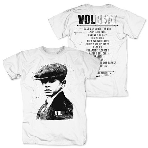 √RRR Tracklist von Volbeat - T-Shirt jetzt im Bravado Shop
