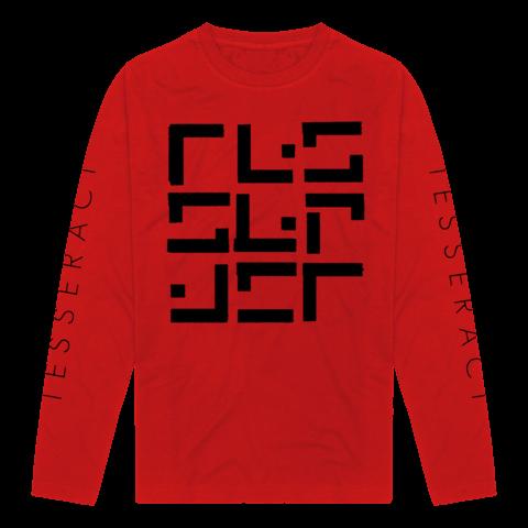 √Glyph Red/Black von TesseracT - Long-sleeve jetzt im Bravado Shop