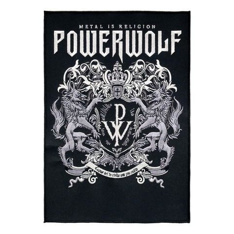 √Powerwolf Crest von Powerwolf - Backpatch jetzt im Bravado Shop