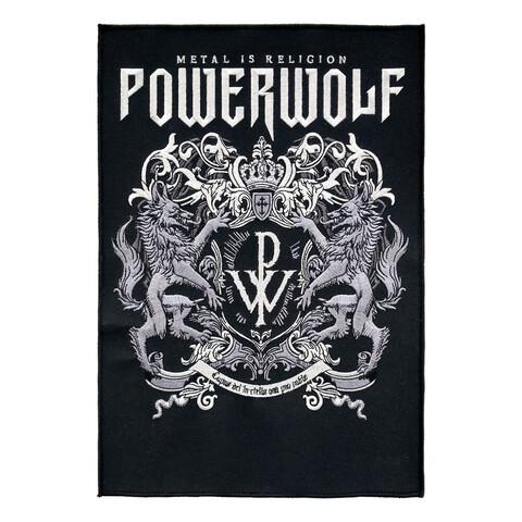 Powerwolf Crest von Powerwolf - Backpatch jetzt im Bravado Store