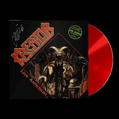 √Live Antichrist... - Limited Red Vinyl von Kreator - Picture Vinyl jetzt im Bravado Shop