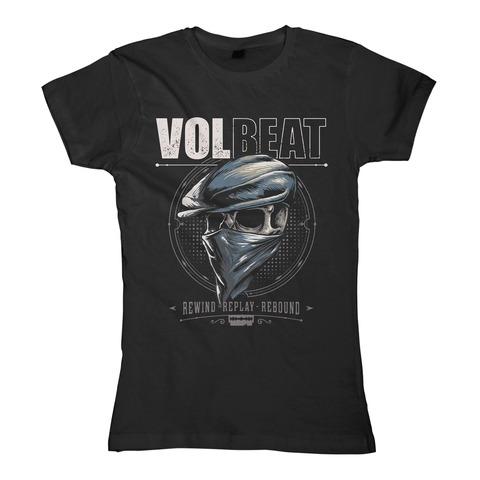 √Bandana Skull von Volbeat - Girlie Shirt jetzt im Bravado Shop