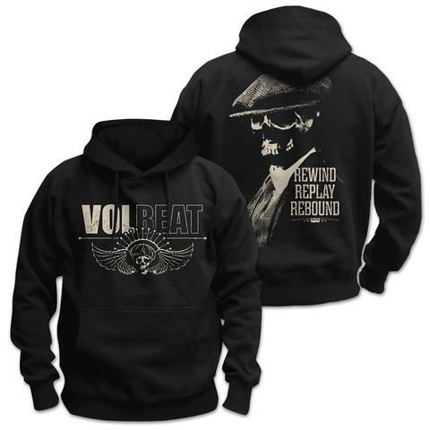 √Skull Face von Volbeat - Hood sweater jetzt im Bravado Shop