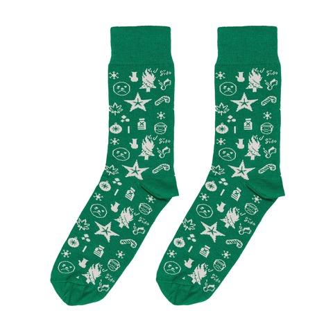 √Ho Ho Ho Allover 2019 von Sido - Socks jetzt im Bravado Shop