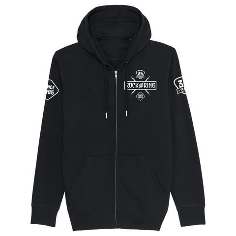 √35 Years - Today Tomorrow Forever von Rock am Ring Festival - Hooded jacket jetzt im Bravado Shop