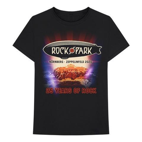 √25 Years of Rock von Rock im Park Festival - T-Shirt jetzt im Bravado Shop