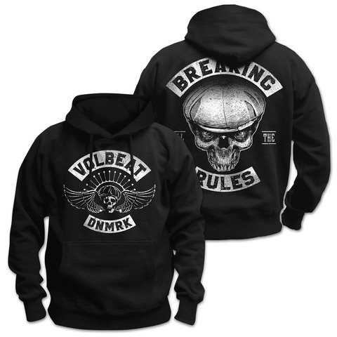 √Breaking All The Rules von Volbeat - Hood sweater jetzt im Bravado Shop