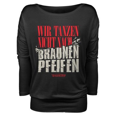 √Braune Pfeifen von Versengold - Girlie long-sleeve jetzt im Bravado Shop