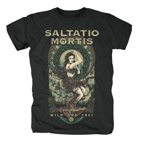 √Lady Terra von Saltatio Mortis - T-Shirt jetzt im Bravado Shop