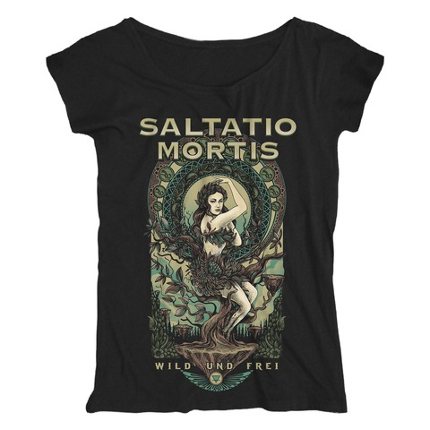 Lady Terra von Saltatio Mortis - Loose Fit Girlie Shirt jetzt im Bravado Shop
