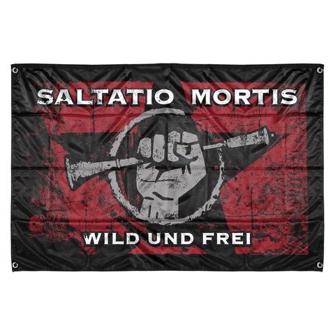 √Wild & Frei von Saltatio Mortis - Flag jetzt im Bravado Shop