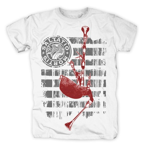 √Pipe Stripes von Saltatio Mortis - T-Shirt jetzt im Bravado Shop