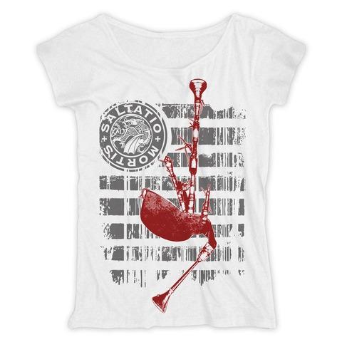 √Pipe Stripes von Saltatio Mortis - Loose Fit Girlie Shirt jetzt im Bravado Shop