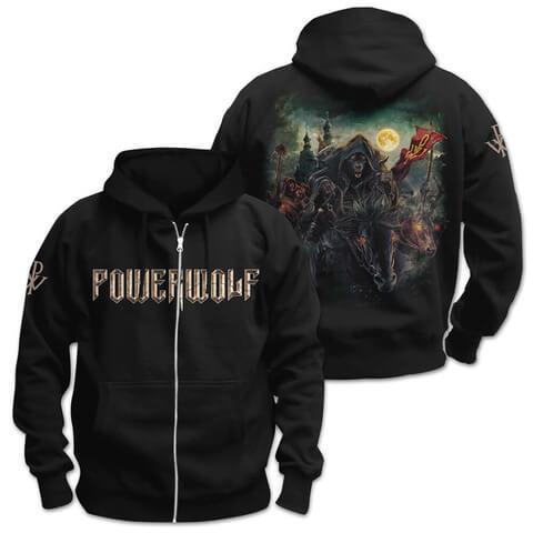 √Metal Mass von Powerwolf - Hooded jacket jetzt im Bravado Shop