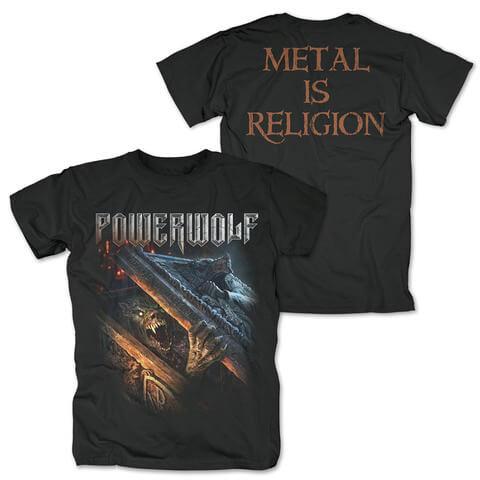 √Zombie Wolf von Powerwolf - T-Shirt jetzt im Bravado Shop