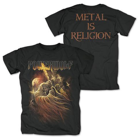 √Kreuzfeuer von Powerwolf - T-Shirt jetzt im Bravado Shop