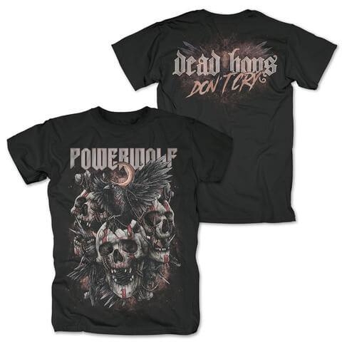 √Dead Boys Dont Cry von Powerwolf - T-Shirt jetzt im Bravado Shop