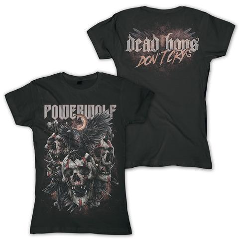 Dead Boys Don't Cry von Powerwolf - Girlie Shirt jetzt im Bravado Shop
