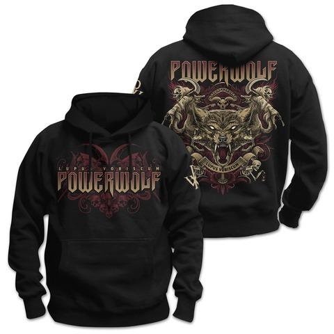 √Lupus Vobiscum von Powerwolf - Hood sweater jetzt im Bravado Shop