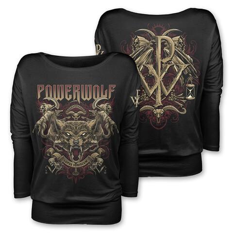 √Lupus Vobiscum von Powerwolf - Girlie long-sleeve jetzt im Bravado Shop