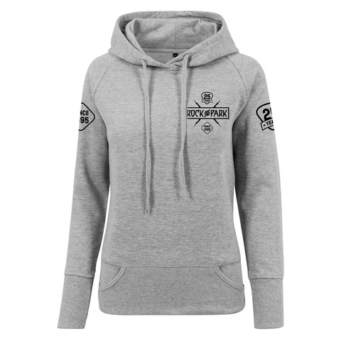 √25 Years - Today Tomorrow Forever von Rock im Park Festival - Girlie hooded sweater jetzt im Bravado Shop