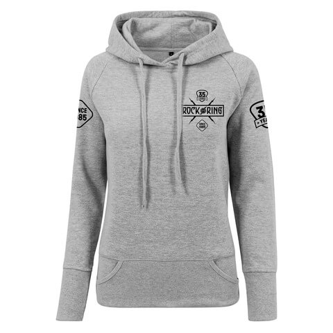 √35 Years - Today Tomorrow Forever von Rock am Ring Festival - Girlie hooded sweater jetzt im Bravado Shop