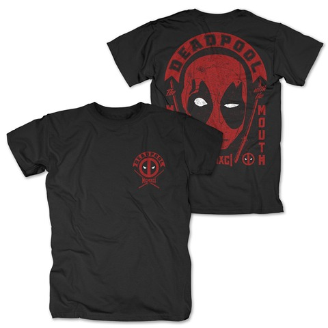 The Merc With The Mouth von Deadpool - T-Shirt jetzt im Bravado Shop