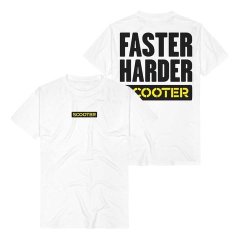 √Faster Harder Scooter von Scooter - T-Shirt jetzt im Bravado Shop