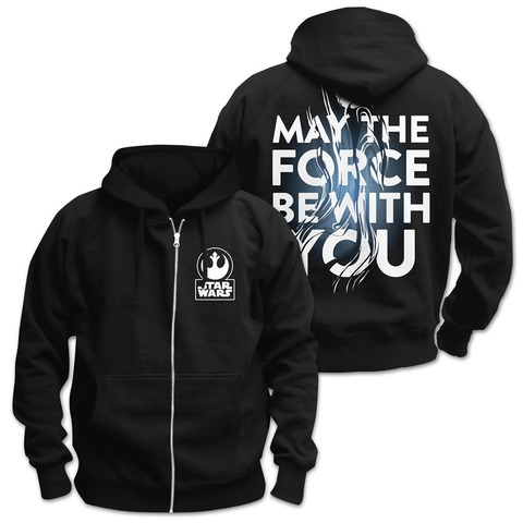 √EP09 - May The Force Be With You von Star Wars - Hooded jacket jetzt im Bravado Shop