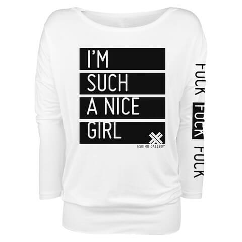 √Nice Girl von Eskimo Callboy - Girlie long-sleeve jetzt im Bravado Shop
