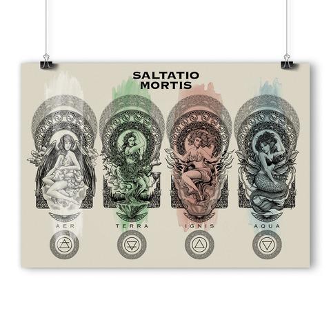 √Elements von Saltatio Mortis - Siebdruckposter jetzt im Bravado Shop