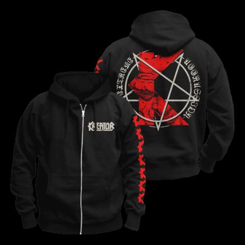 √K-Line Pentagram von Kreator - Hooded jacket jetzt im Bravado Shop