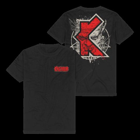 √K-Line Pentagram Demon von Kreator - T-Shirt jetzt im Bravado Shop