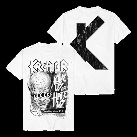 √Love Us Or Hate Us von Kreator - T-Shirt jetzt im Bravado Shop