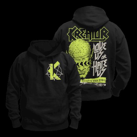√Love Us Or Hate Us von Kreator - Hood sweater jetzt im Bravado Shop
