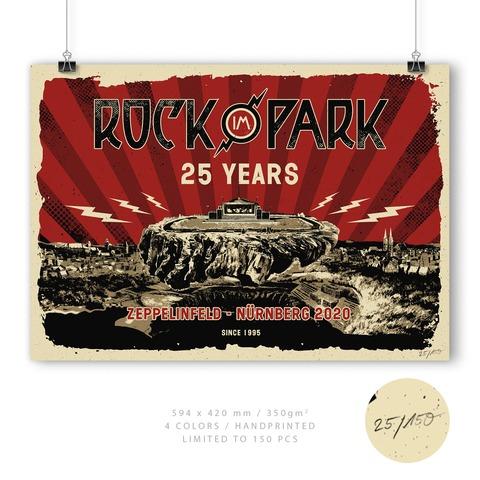 √25 Years - Limited von Rock im Park Festival - Siebdruckposter jetzt im Bravado Shop