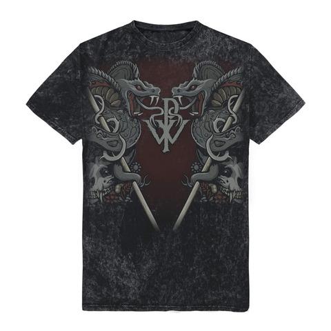 √Cobra Allover von Powerwolf - T-Shirt jetzt im Bravado Shop