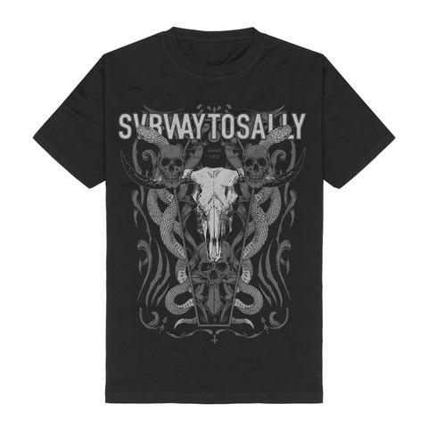 √Snake Skull von Subway To Sally - T-Shirt jetzt im Bravado Shop