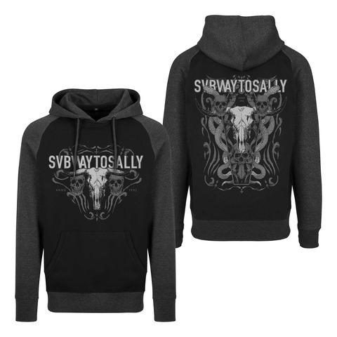 √Snake Skull von Subway To Sally - Hood sweater jetzt im Bravado Shop