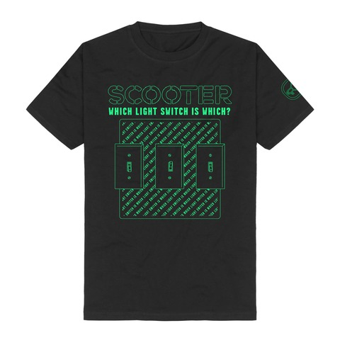 √Which Light Switch Is Which? von Scooter - T-Shirt jetzt im Bravado Shop