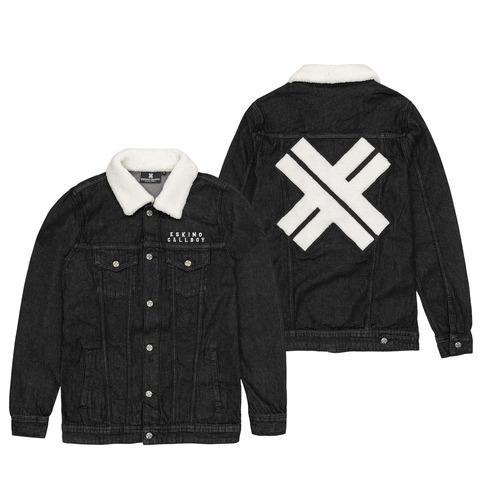 √X - Sherpa Patch von Eskimo Callboy - Sherpa Denim Jacket jetzt im Bravado Shop