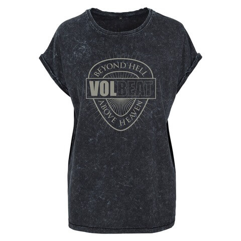 √Beyond Heaven Above Hell von Volbeat - Girlie Shirt jetzt im Bravado Shop