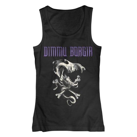 √Skull von Dimmu Borgir - Girlie Top jetzt im Bravado Shop