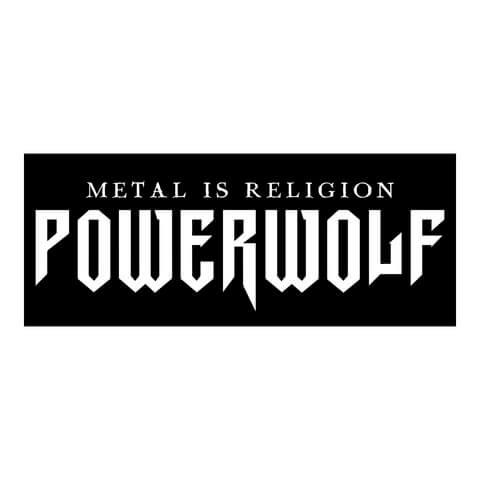 √Powerwolf Logo Sticker von Powerwolf - Sticker jetzt im Bravado Shop