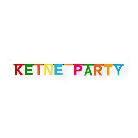 √Keine Party Girlande von Deichkind - Girlande jetzt im Bravado Shop