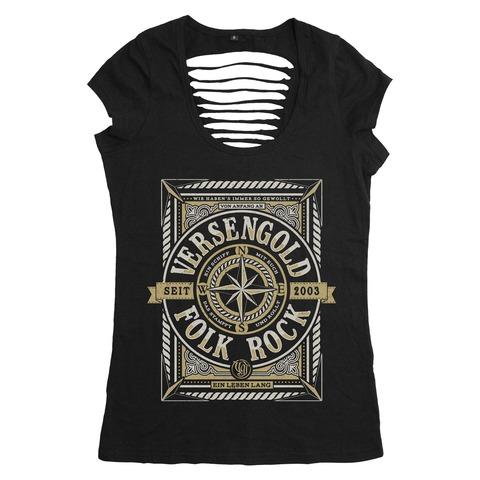 √Ein Leben lang von Versengold - Girlie Shirt jetzt im Bravado Shop