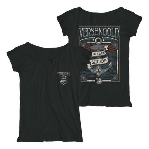√Anker von Versengold - Girlie Shirt jetzt im Bravado Shop