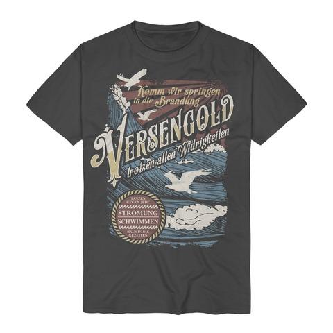 √Gegen jede Strömung von Versengold - T-Shirt jetzt im Bravado Shop