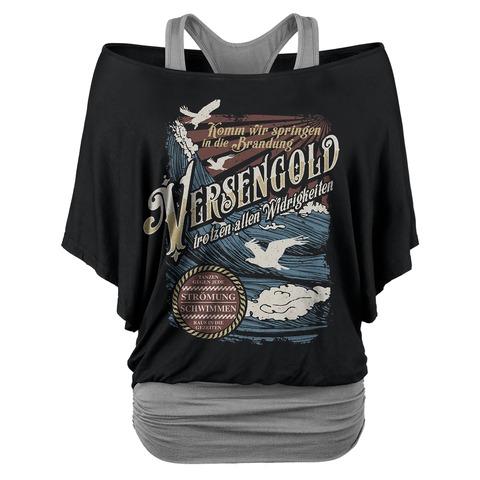 √Gegen jede Strömung von Versengold - Girlie Shirt jetzt im Bravado Shop