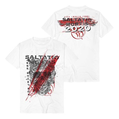 √Floral Skull von Saltatio Mortis - t-shirt jetzt im Bravado Shop